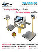 Portable Airport Baggage Scale Brochure